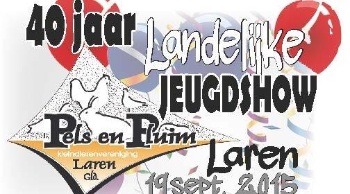 Logo Jeugdshow Laren 2015